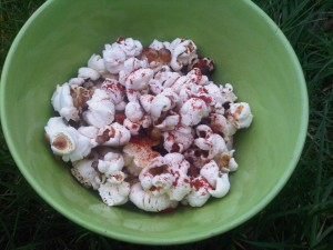 Chilli & lemon popcorn