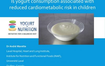 Nutrition & Growth – where does yogurt fit in?