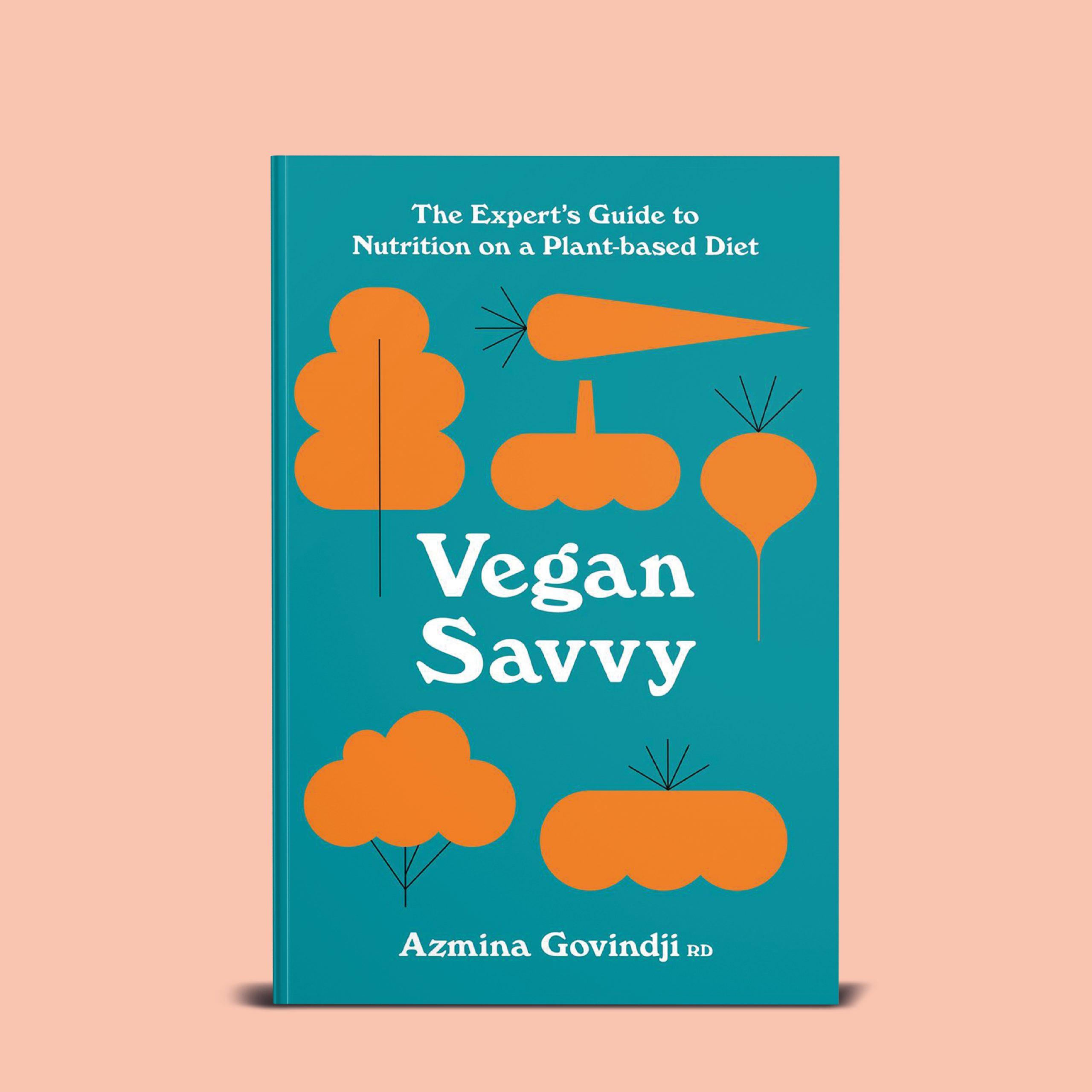 Book cover - vegan savvy - Azmina Govindji